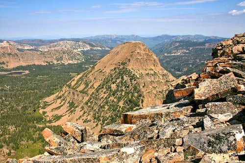Reids Peak from Bald Mountain