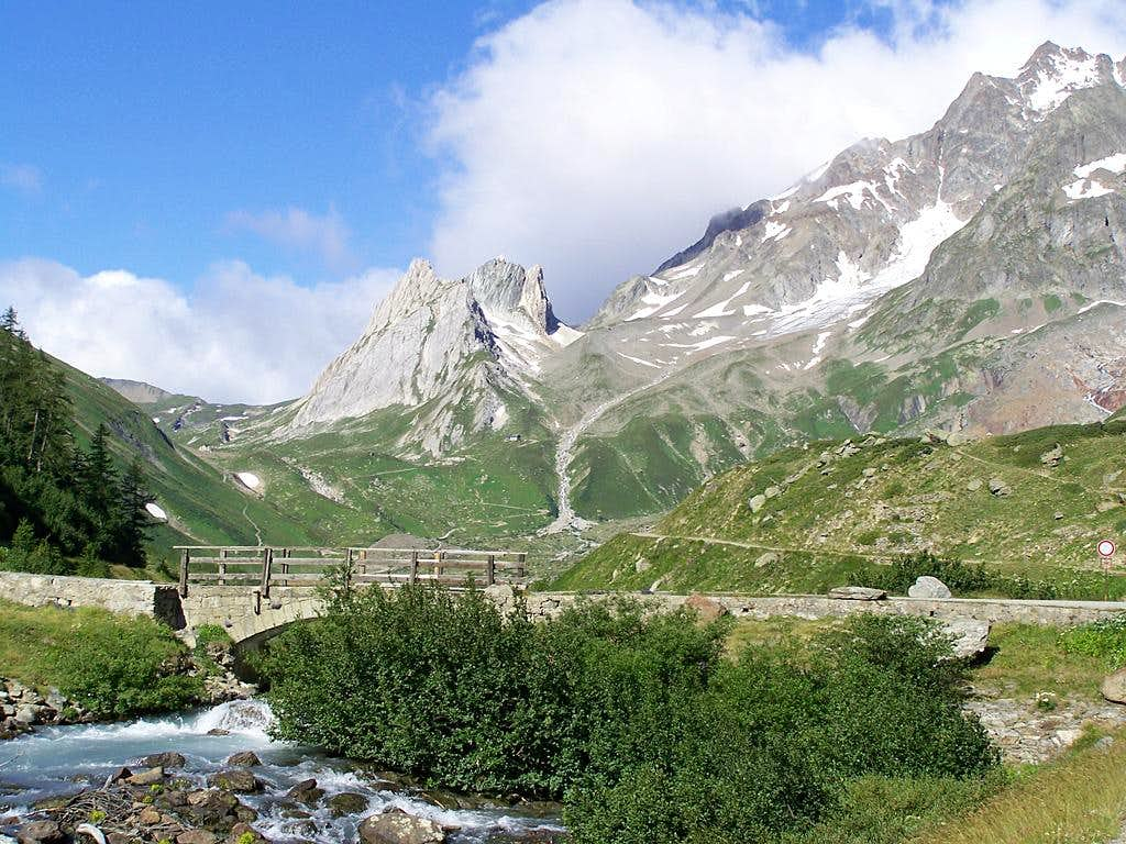 The higher part of Val Veny