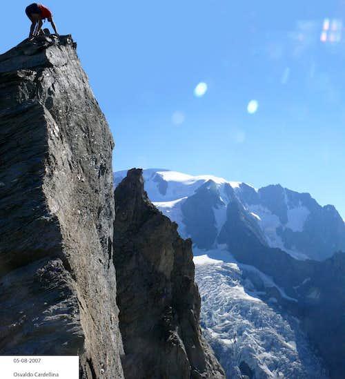 Aiguilles des Luisettes (first  ascent ?)..