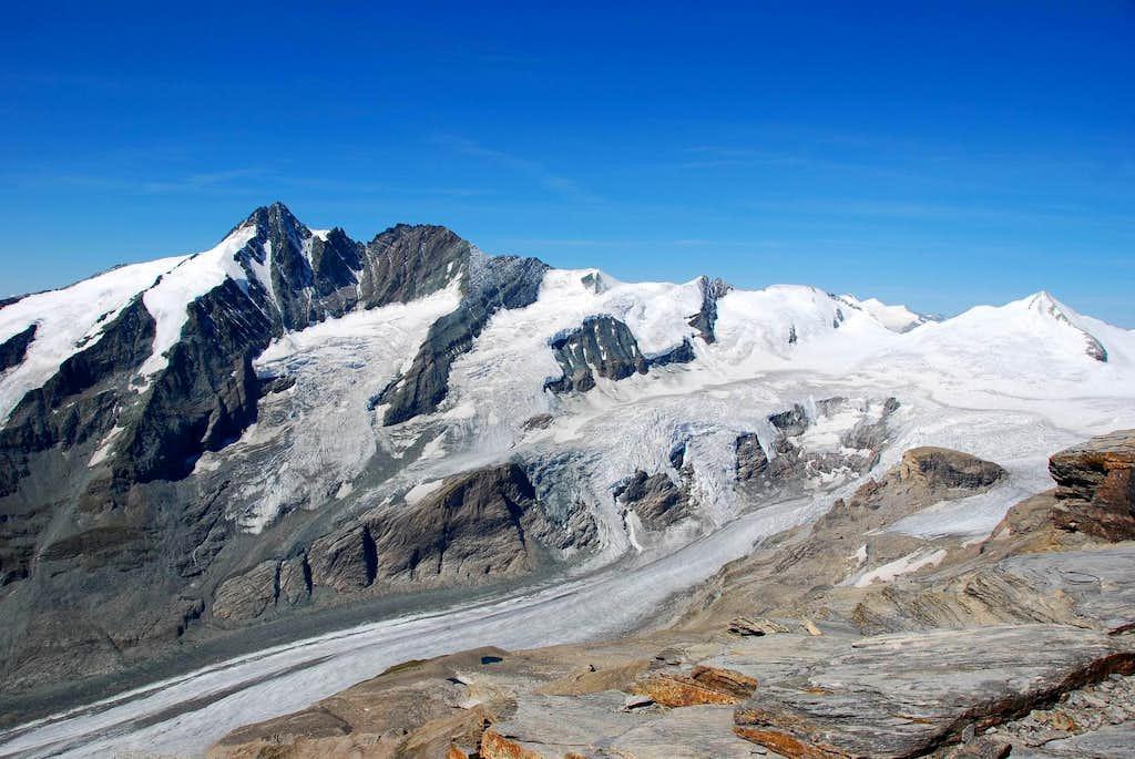 Fuscherkarkopf summit view