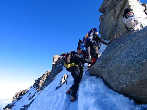 Gran Paradiso final Ridge
