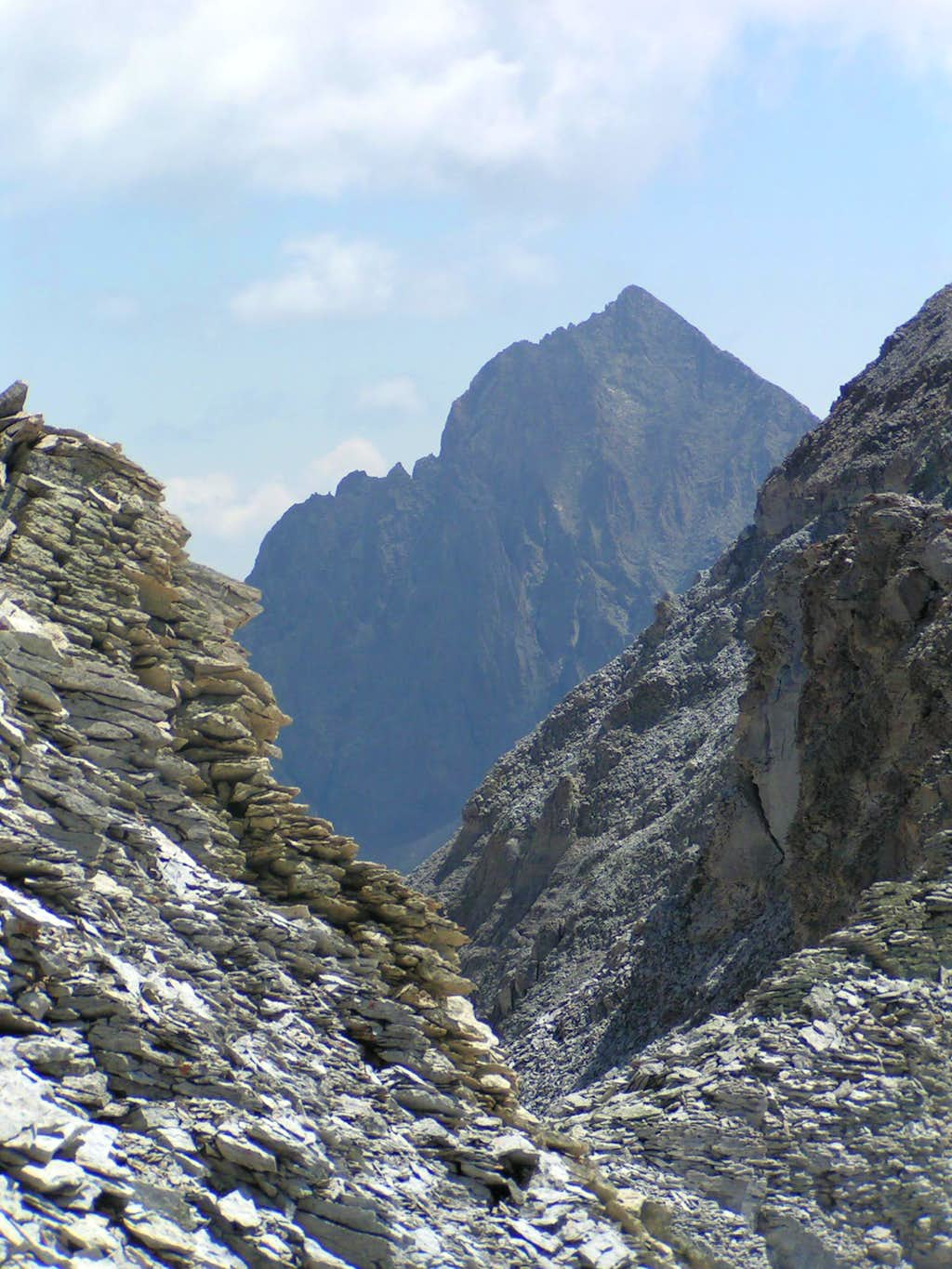 Different angles of higher peaks from 13ers