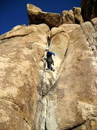 Learning the Ropes at Joshua Tree