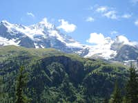 Breithorn and Tschingelhorn