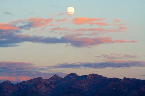 Moon over Ruby Dome