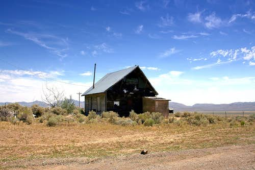 Abandoned home in Tuscarora