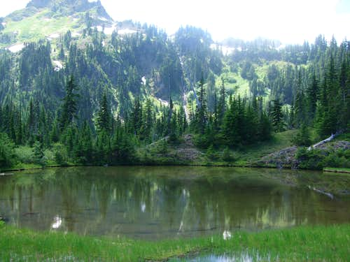 The Tarn at the end of the Putvin Trail
