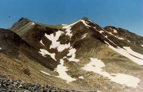 Striped Mountain, viewed from...