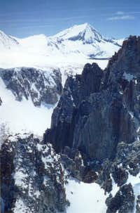 Arrow Peak, viewed from the...