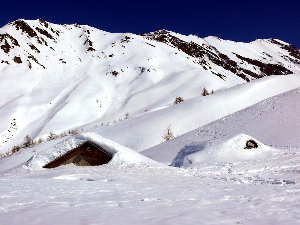 Alta val Ferret, l'apeggio di Malatrà (2056m)