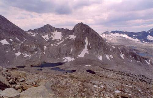Mount Warlow (left) and Mount...