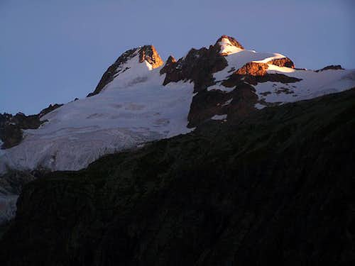 Sunrise on Mont Dolent