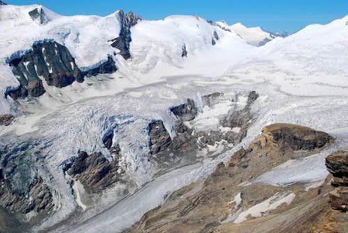 Horseshoe-breach seen from Fuscherkarkopf