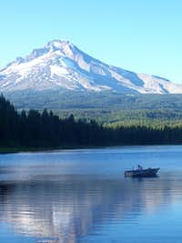 Trillium Lake Fisherman