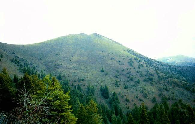 Moore Mountain from the trail...