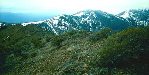 Moore Mountain as seen from...