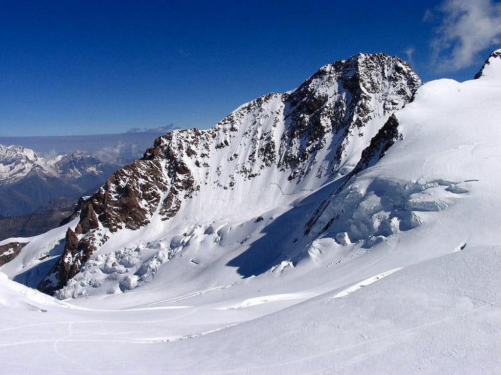 Punta Dufour (4634m), top of Monte Rosa Range