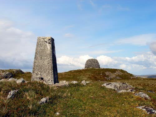 Summit of Drygarn Fawr