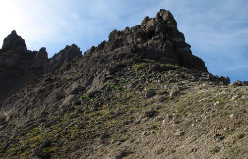 Breccia Peak-- Ridge Approach