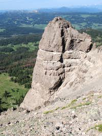 Breccia Peak-- Summit View