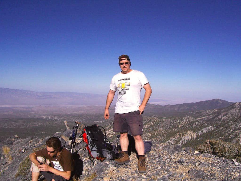 On top of Macks Peak