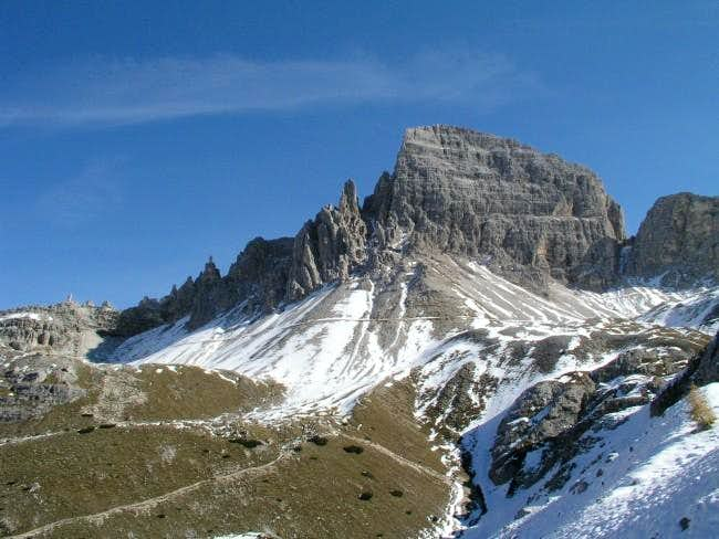 Paternkofel (Monte Paterna)...