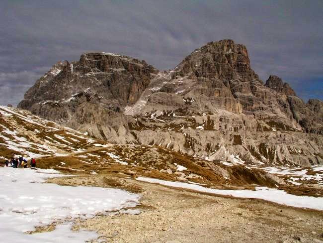 Schusterplatte (2957m) in...