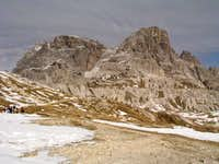 Schusterplatte (2957m) in...
