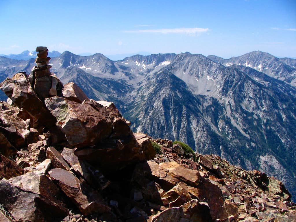 Alpine Ridge from Twin Peaks Summit