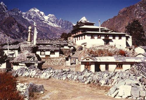 Thangboche Monastry 1980. The...