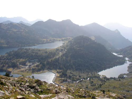 Lakes Aumar and Aubert