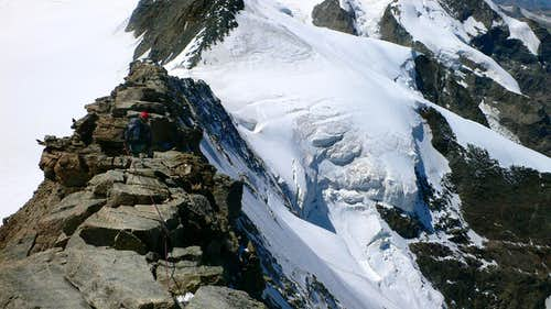 Descending from the West Summit