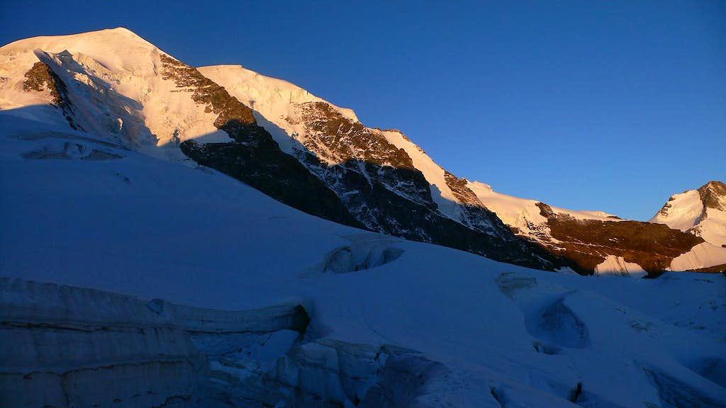 Piz Palü from the Pers Glacier
