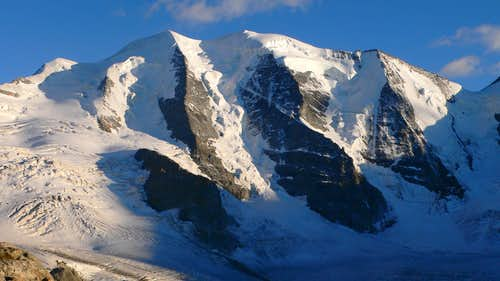 The North Face of Piz Palü