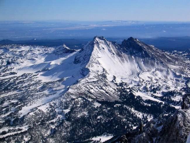 NW Ridge of Broken Top from...