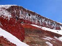 Lewis Glacier headwall (Nov....