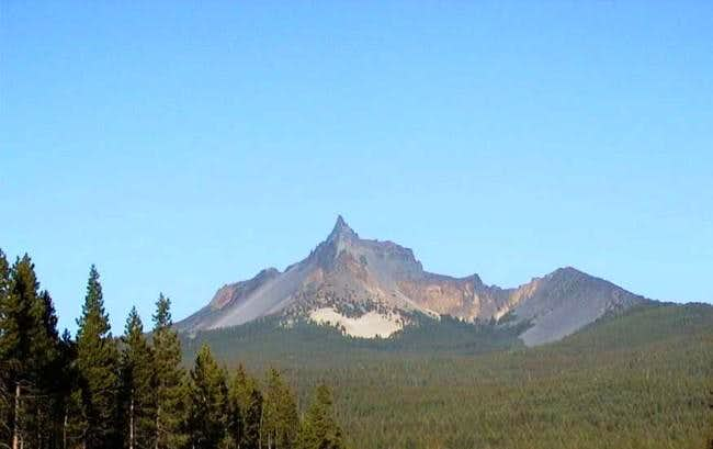 West side of Mt. Thielsen...