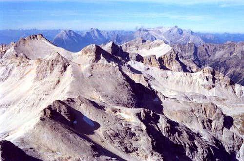 Typical Karwendel landscape,...