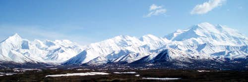 Mount Brooks and Denali
