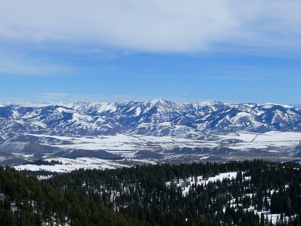 Meade Peak from Sherman Peak