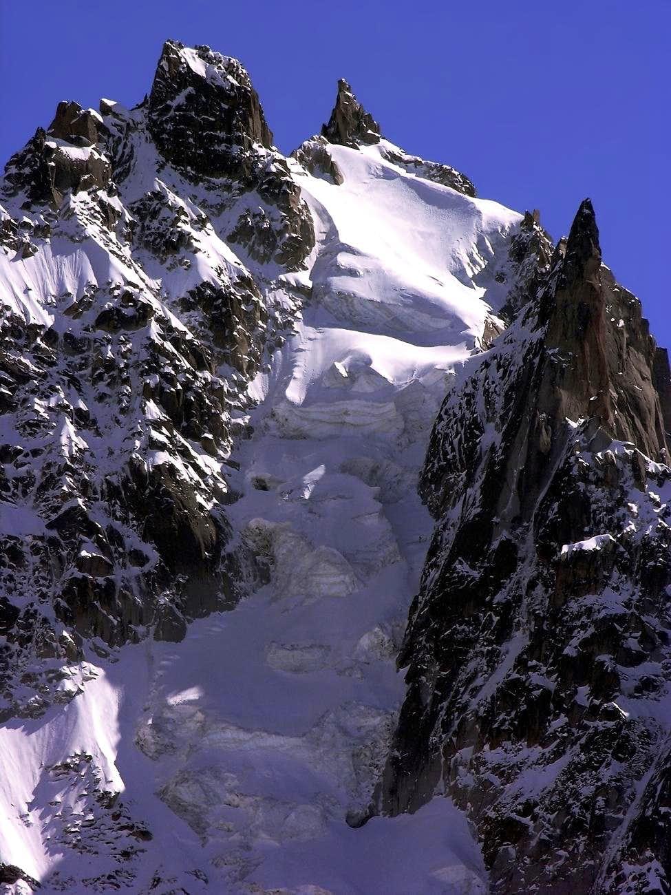 Aiguille du Plan (3673 m), north face