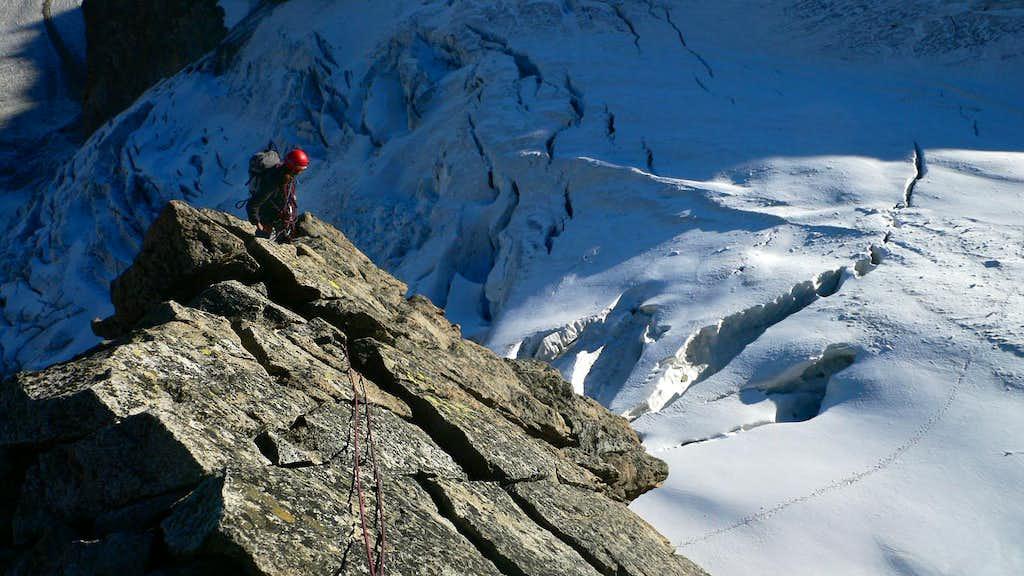 Josef on the ridge