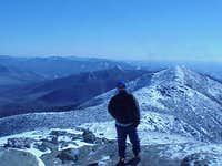 Summit photo, view across...