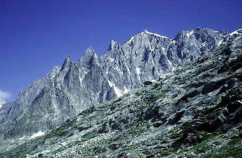 Aiguille du Plan - NW ridge