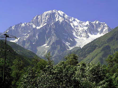 His Majesty the Mont Blanc