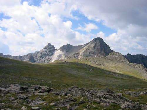Navajo Peak, Dickers Peck,...