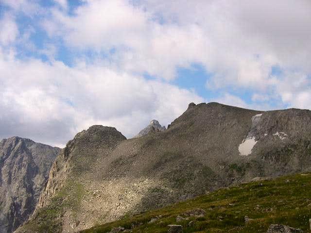 Navajo Peaks distinct cone...