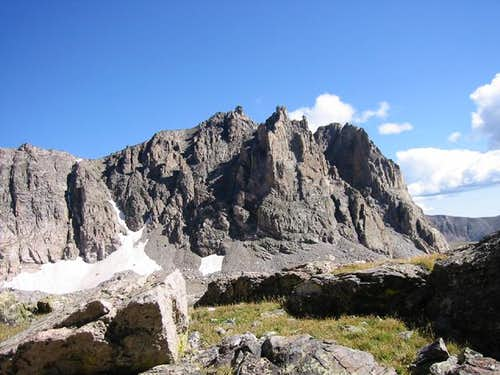 Shoshoni Peak from a climb of...