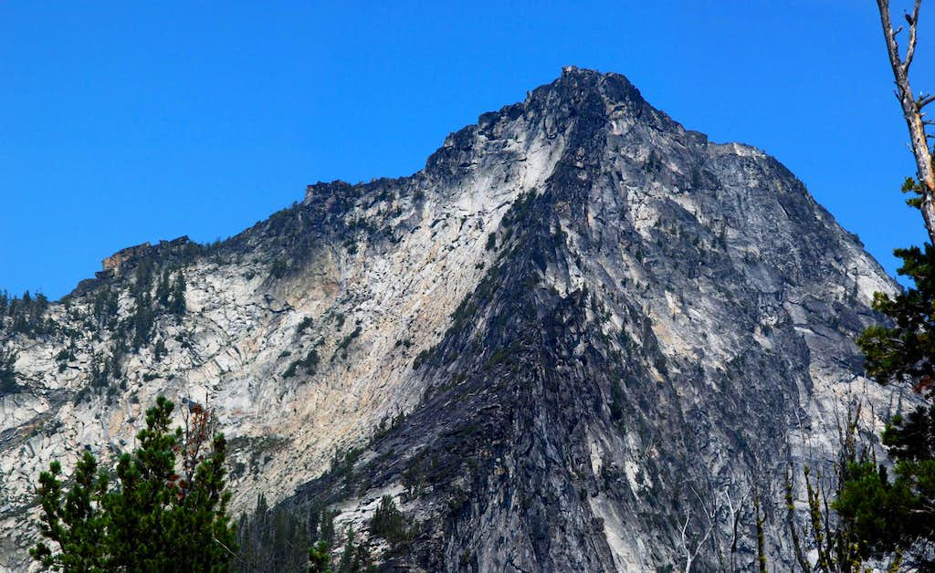 Canyon Peak's West and South Ridges