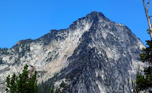 Canyon Peak\'s West and South Ridges